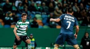 Prováveis escalações de Sporting e Paços Ferreira. Twitter/Sporting_CP