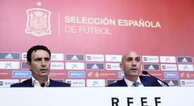 Molina fue diplomático al hablar de Robert Moreno. EFE