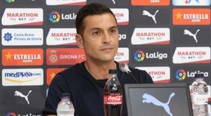 Francisco aseguró que hay rabia en el vestuario. Twitter/GironaFC