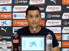 Francisco fue presentado como nuevo entrenador. Captura/GironaFC