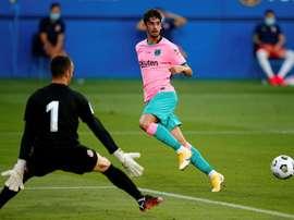 Le formazioni ufficiali di Ferencvaros-Barcellona. EFE