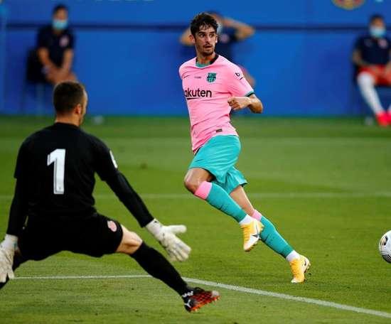 Dans cinq ans je veux être un pilier du Barça