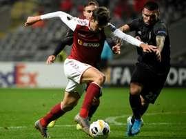 Trincao s'est engagé en faveur du FC Barcelone. AFP