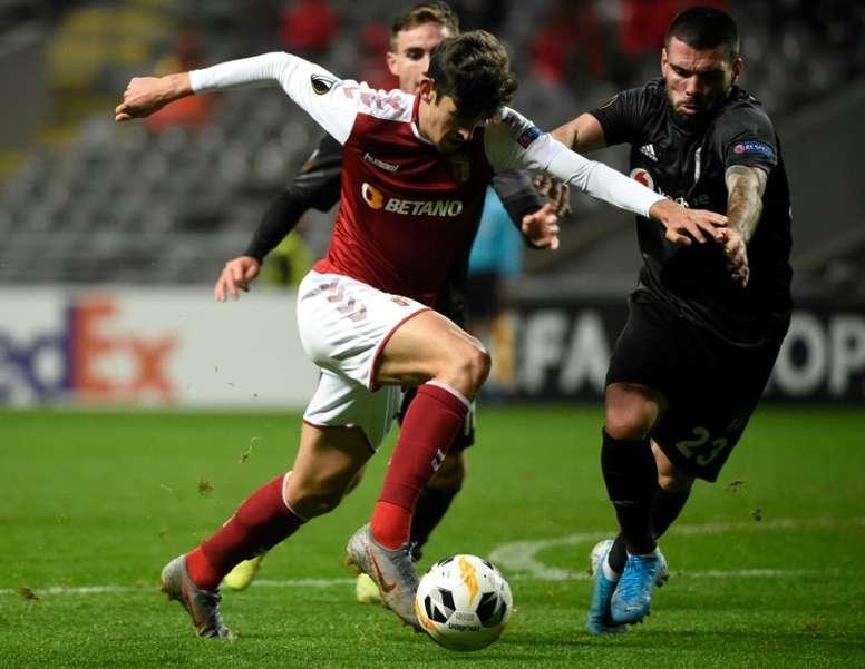 Sporting de Braga y Rangers juegan el jueves. AFP