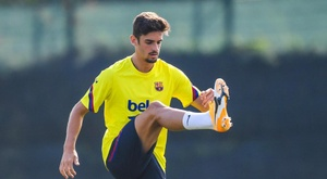 Trincao trained for Barcelona. FCBarcelona