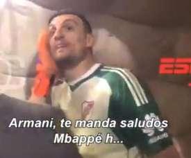 Armani a été piqué au vif par ces provocations. ESPN