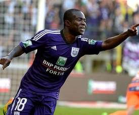 Frank Acheampong podría terminar en el Liverpool. EFE/Archivo