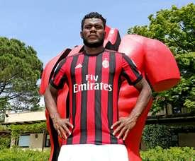 Franck Kessié pourrait rester à Milan AC. Twitter