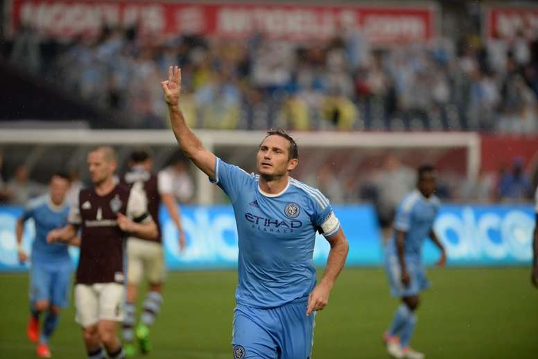 Lampard is a free agent after leaving New York City. NYCFC