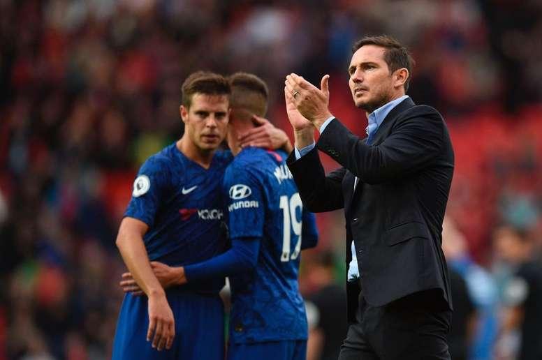 Lampard no pierde el optimismo. Twitter/ChelseaFC