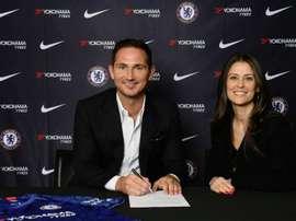 Lampard é o novo treinador do Chelsea. ChelseaFC
