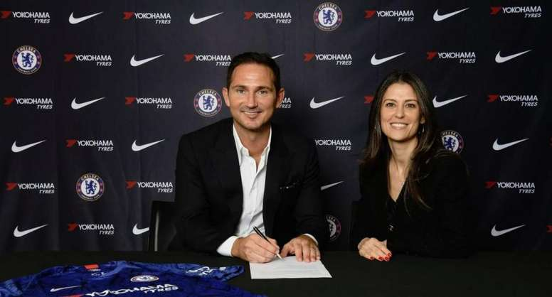 Frank Lampard is Chelsea's new manager. ChelseaFC