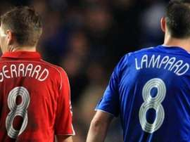 Frank and Lampard standing next to each other. 90min