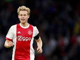 Tottenham est enclin à multiplier le salaire de De Jong par dix. AFP