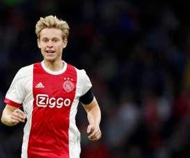 De Jong a recalé le FC Barcelone. AFP
