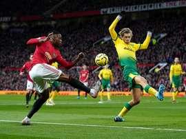 Cantwell, dans le viseur des Reds. Twitter/NorwichCityFC