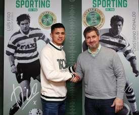 Fredy Montero est de retour au Portugal. Twitter/SCP