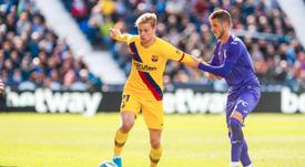 Il Barcellona supera il Leganes. FCBarcelona
