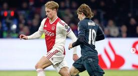 De Jong ensalzó la figura de Modric. Intagram/FrenkiedeJong