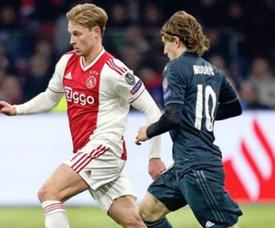 Frenkie De Jong a été impressionné par Luka Modric. Instagram/FrenkiedeJong
