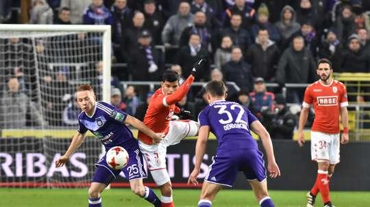 Ya hay finalistas en la Copa Belga. AFP