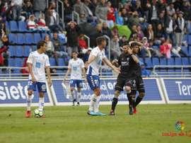 El Huesca confirmó su recuperación en Tenerife. LaLiga