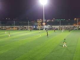 Roda y Castellón empataron a uno en Vila-Real. Twitter/CDCastellon