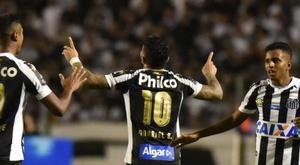 Gabigol volvió a marcar tras dos jornadas sin hacerlo. Santos