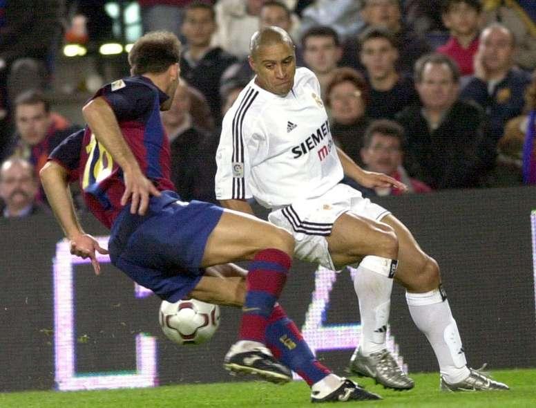 Cuando Ronaldo y Roberto Carlos rompieron la maldición liguera del Camp Nou  - BeSoccer