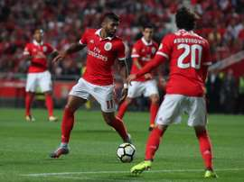 Gabriel Barbosa in action for Benfica. Twitter/SLBenfica