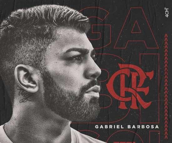 Gabigol va rejoindre le Flamengo. Twitter/@gabigol