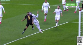 Así fue el gol de Gabriel Jesus. Captura/MovistarLigadeCampeones