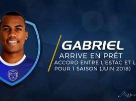 El Troyes incorpora al central brasileño Silva para el próximo curso en la Ligue 1. Estac_officiel
