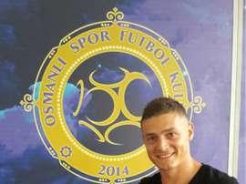 Gabriel Torje, alors joueur de l'Osmanlispor. Twitter
