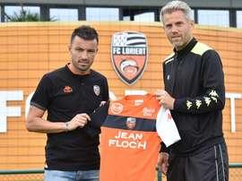 Gaël Danic se ha incorporado a los entrenamientos del Lorient. FCLorient