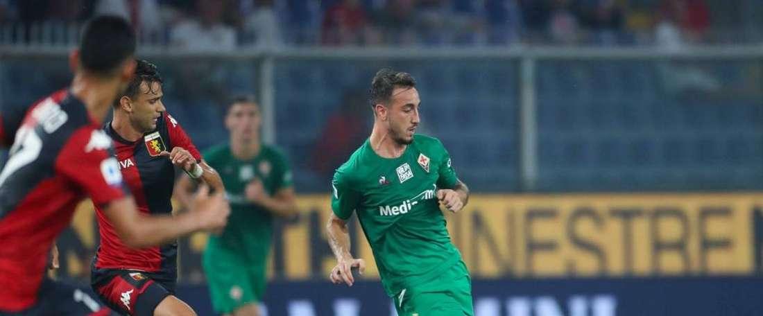 Castrovilli a prolongé jusqu'en 2024 avec la Fiorentina. Twitter/acffiorentina