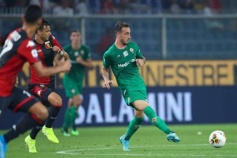 Castrovilli renovó con la Fiorentina hasta 2024. Twitter/acffiorentina