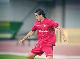 Gai Assulin, en un partido con el Mallorca. Twitter