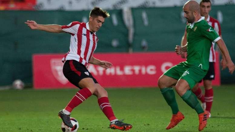 Larrazabal, satisfecho por su debut. AthleticClub