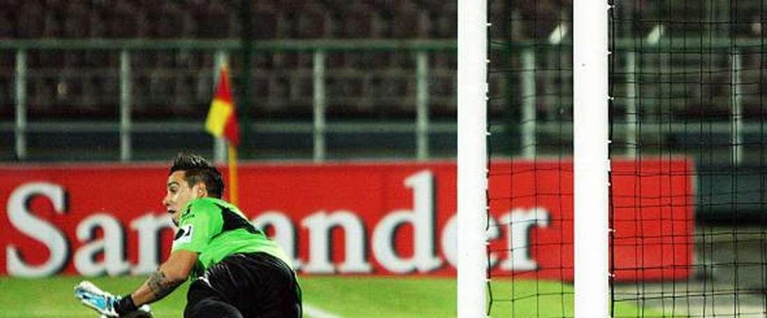 Galíndez ha parado los tres penaltis que le han lanzado en este 2016. AFP