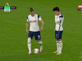 Bale made his return. Captura/ESPN