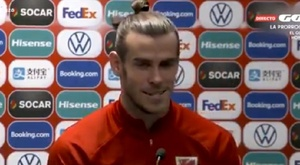 Bale was not too fussed about the criticism. Twitter/Captura/ElGolazodeGol