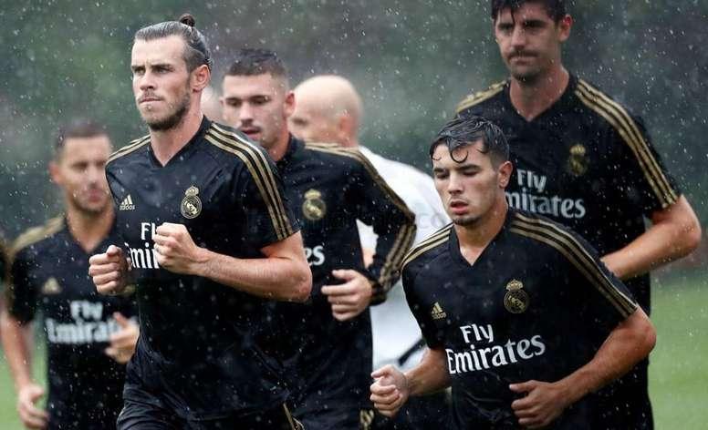 El mal tiempo complica la pretemporada del Madrid. RealMadrid