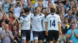 Román compartió vestuario con Bale y Modric en el Tottenham. Zimbio
