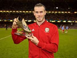 Bale will be absent for Wales in a crucial game against Ireland on Tuesday. SELECCIONDEGALES.