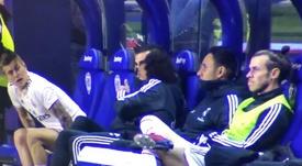 Bale était de mauvaise humeur. Capture/ElGolazodeGol