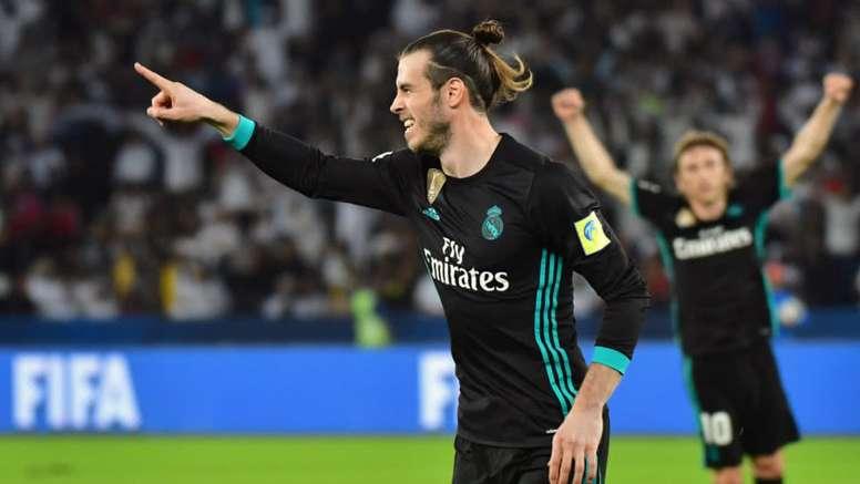 Gareth Bale marcó dos tantos ante el Celta. AFP