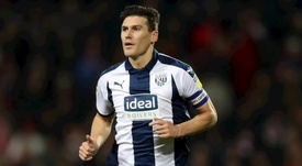 Gareth Barry refuerza el WBA hasta final de temporada. WBA