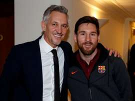 Gary Lineker has never been shy in showing his admiration for Barcelona star Messi. FCBARCELONA