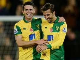 Robbie Brady le dio el triunfo al Norwich ante el West Brom. Canaries FC